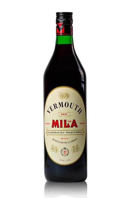 Botella 1 litro vermouth rojo