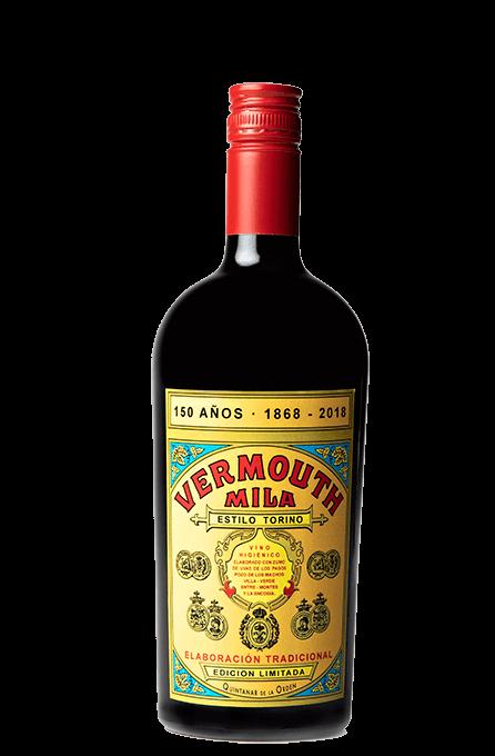 Botella vermouth rojo 150 aniversario